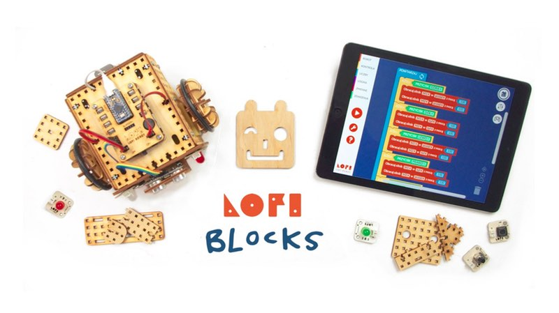 LOFI Blocks - aplikacja mobile iOS iPhone iPad Android bluetooth 4.0