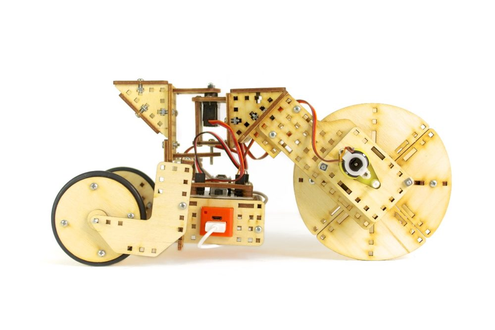 robot flipper przegubowy