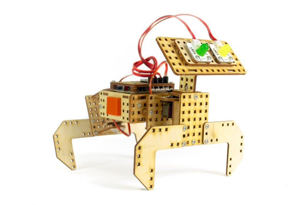 Robot pies z zestawu Flipbox