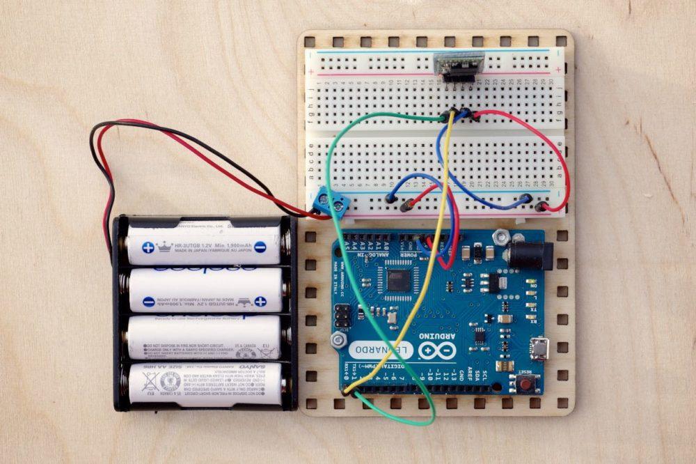 Moduł bluetooth HC 06 - Arduino Leonardo