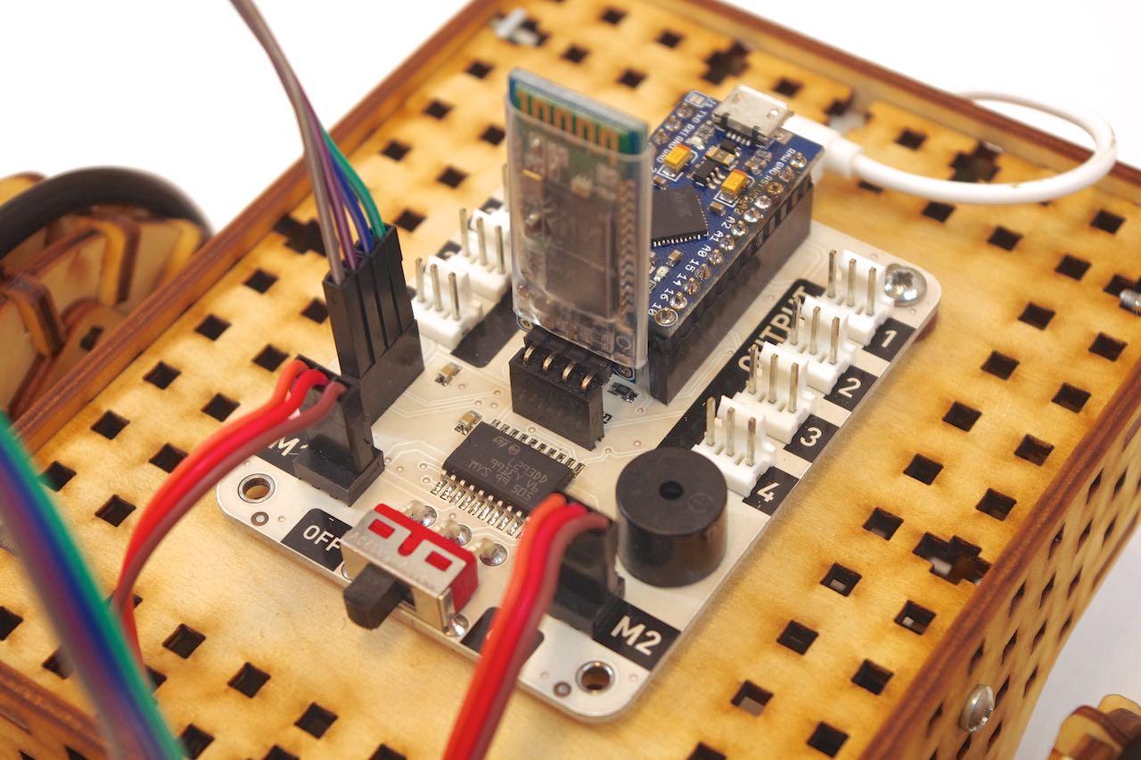 LOFI Brain - instalacja modułu bluetooth