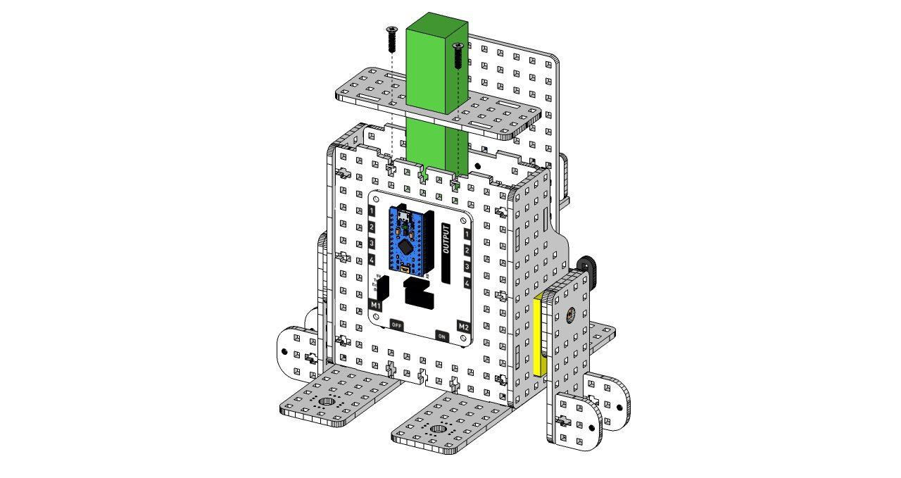 instrukcja - robot goryl 7