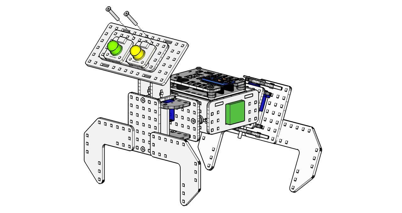 robot pies instrukcja składania