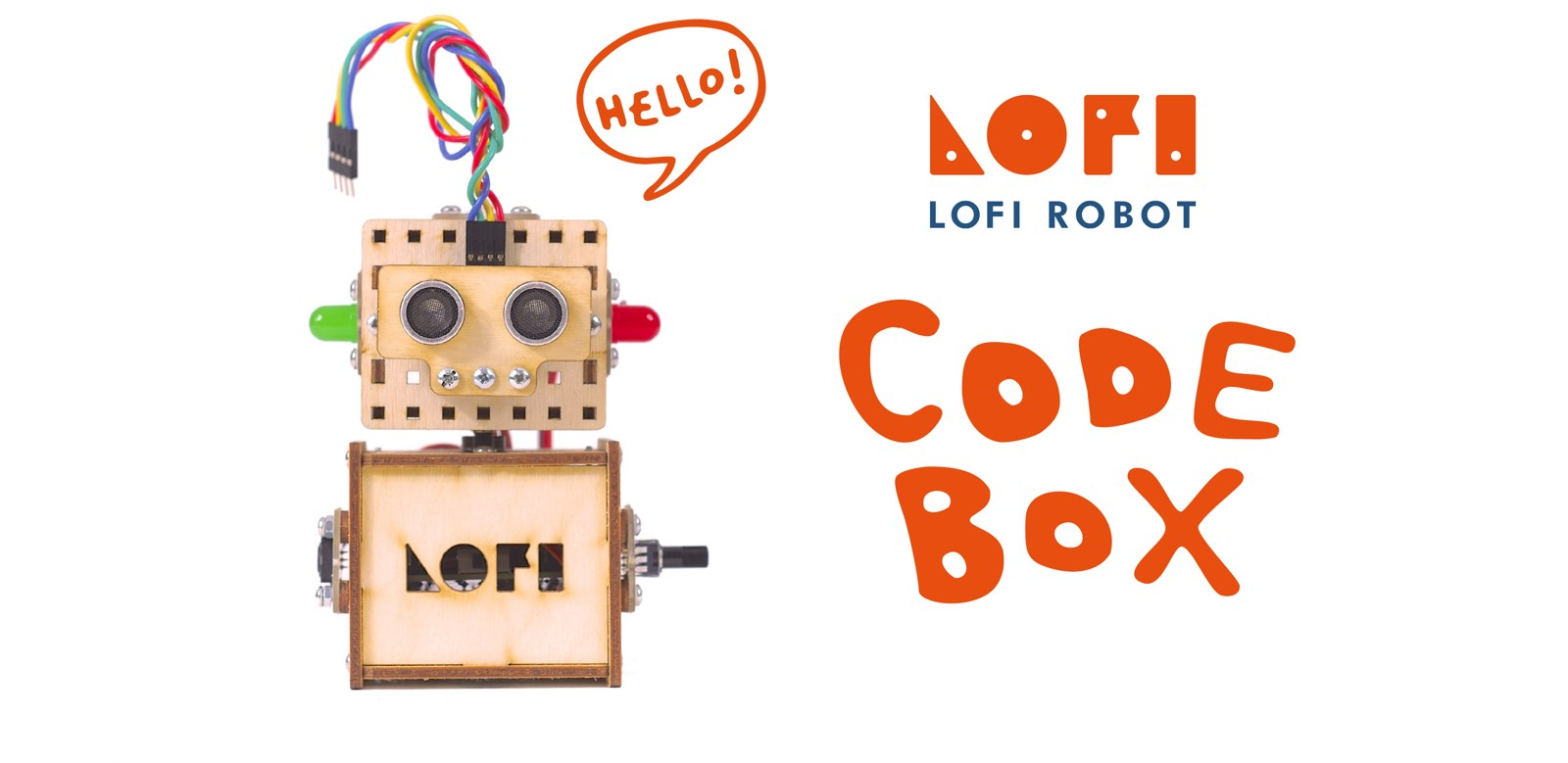 LOFI Robot - robotics STEAM educational kit