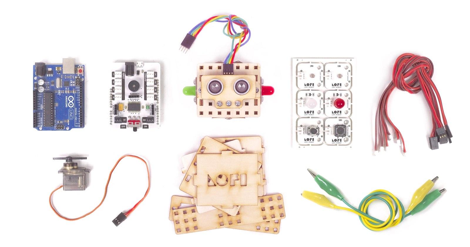 LOFI Robot - system donauki robotyki