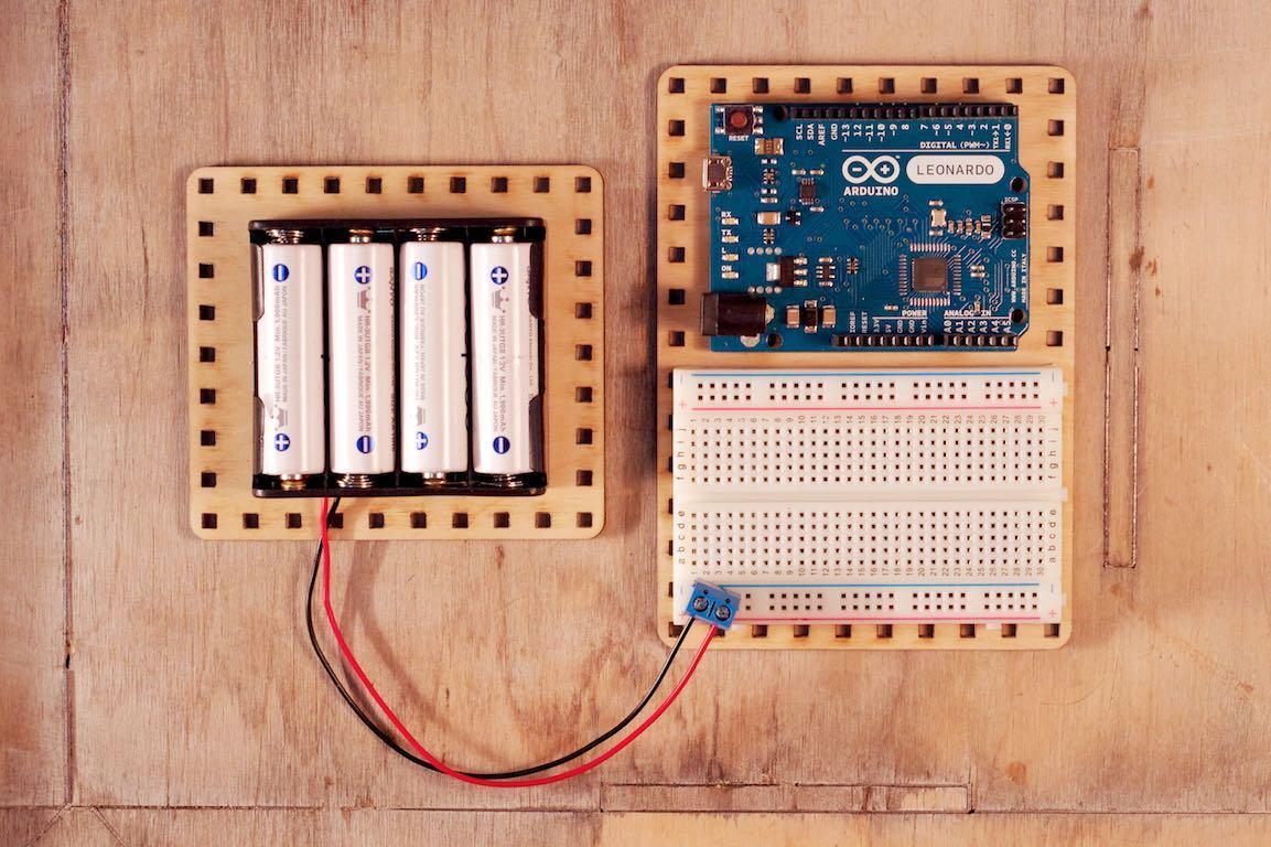 Płytka prototypowa ibaterie