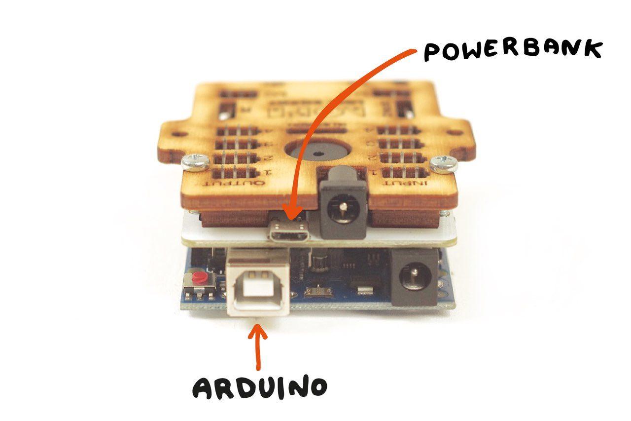 LOFI Brain podłączenie Arduino