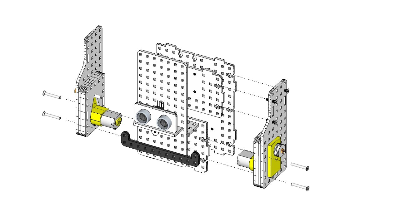 instrukcja - robot goryl 3