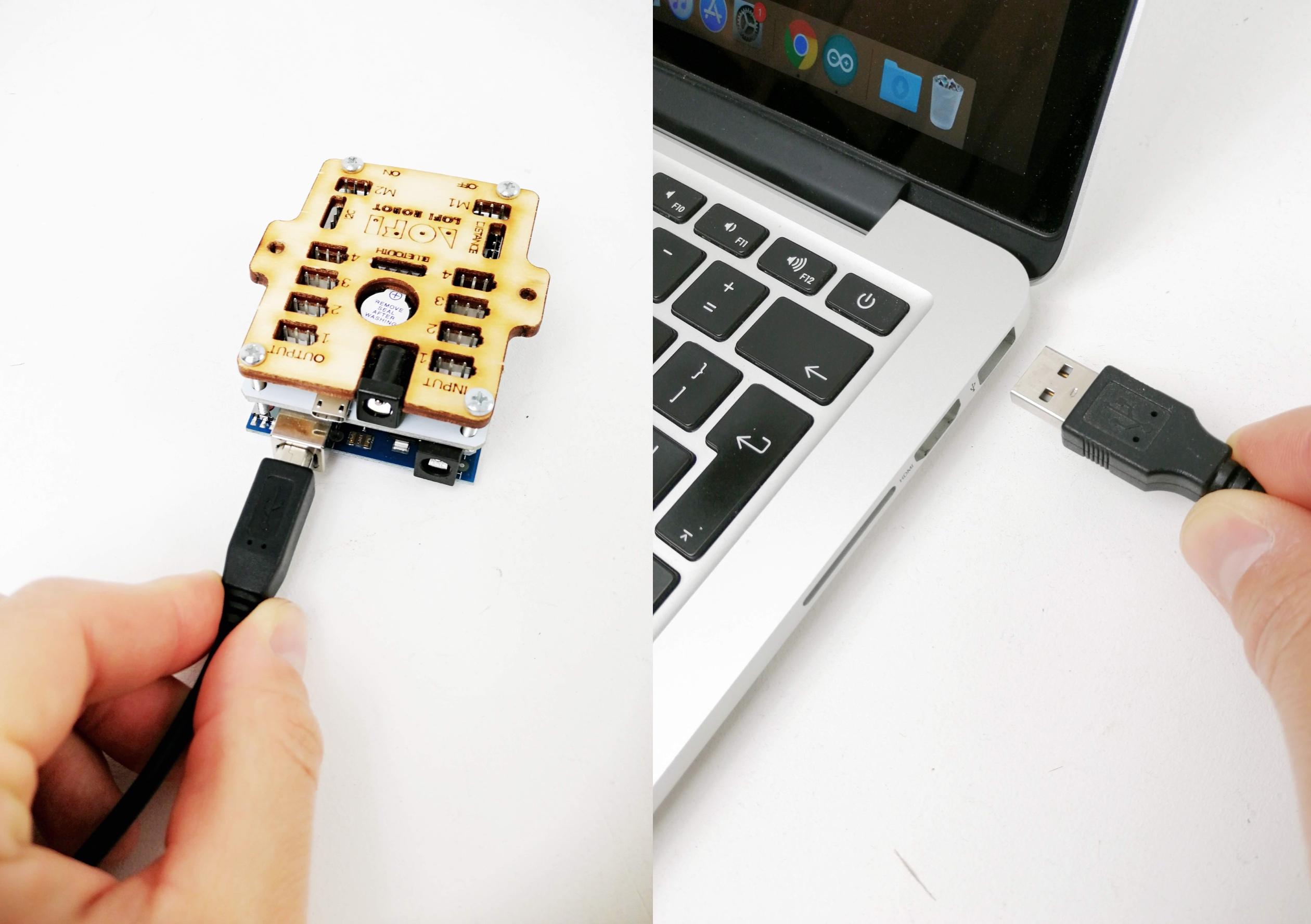 USB cable - MacOS - LOFI Robot