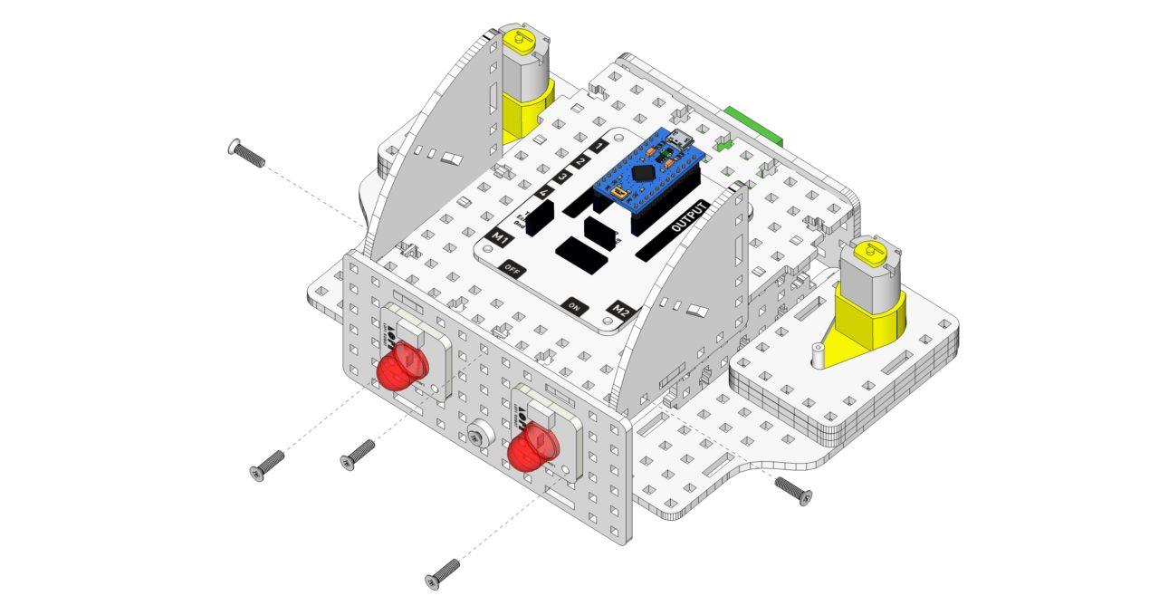 Robot poduszkowiec - instrukcja