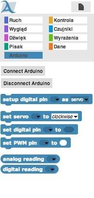 Snap4Arduino - Arduino blocks