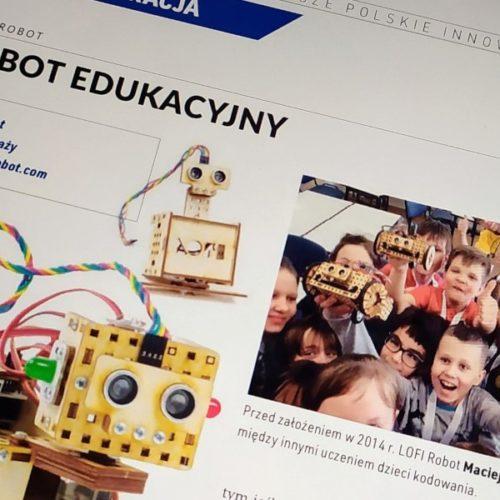 LOFI Robot laureatem Soczewek 2018